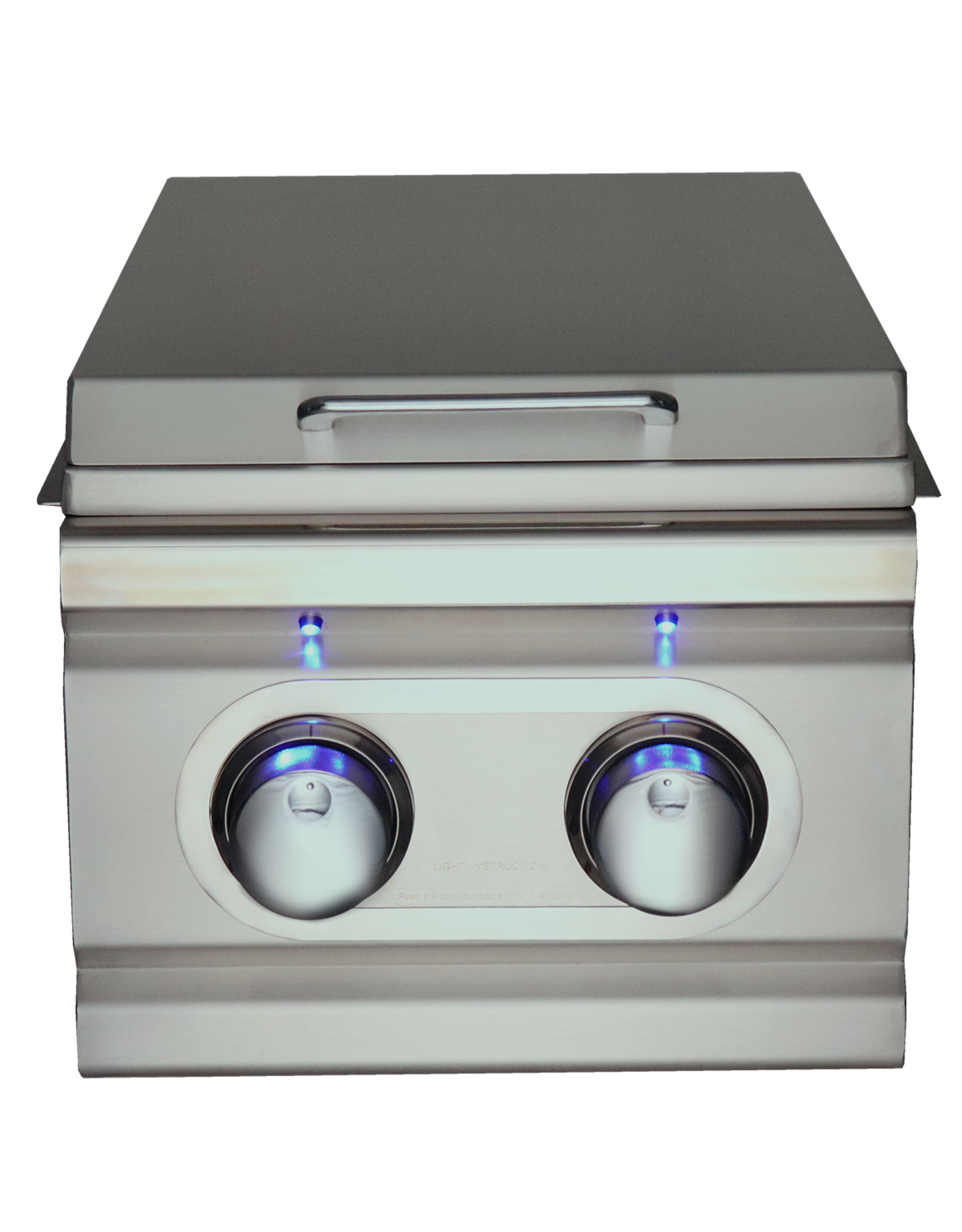 Renaissance Cooking Systems Renaissance Cooking Systems The Cutlass-Pro Series Double Side Burner with LED Lights - RDB1EL