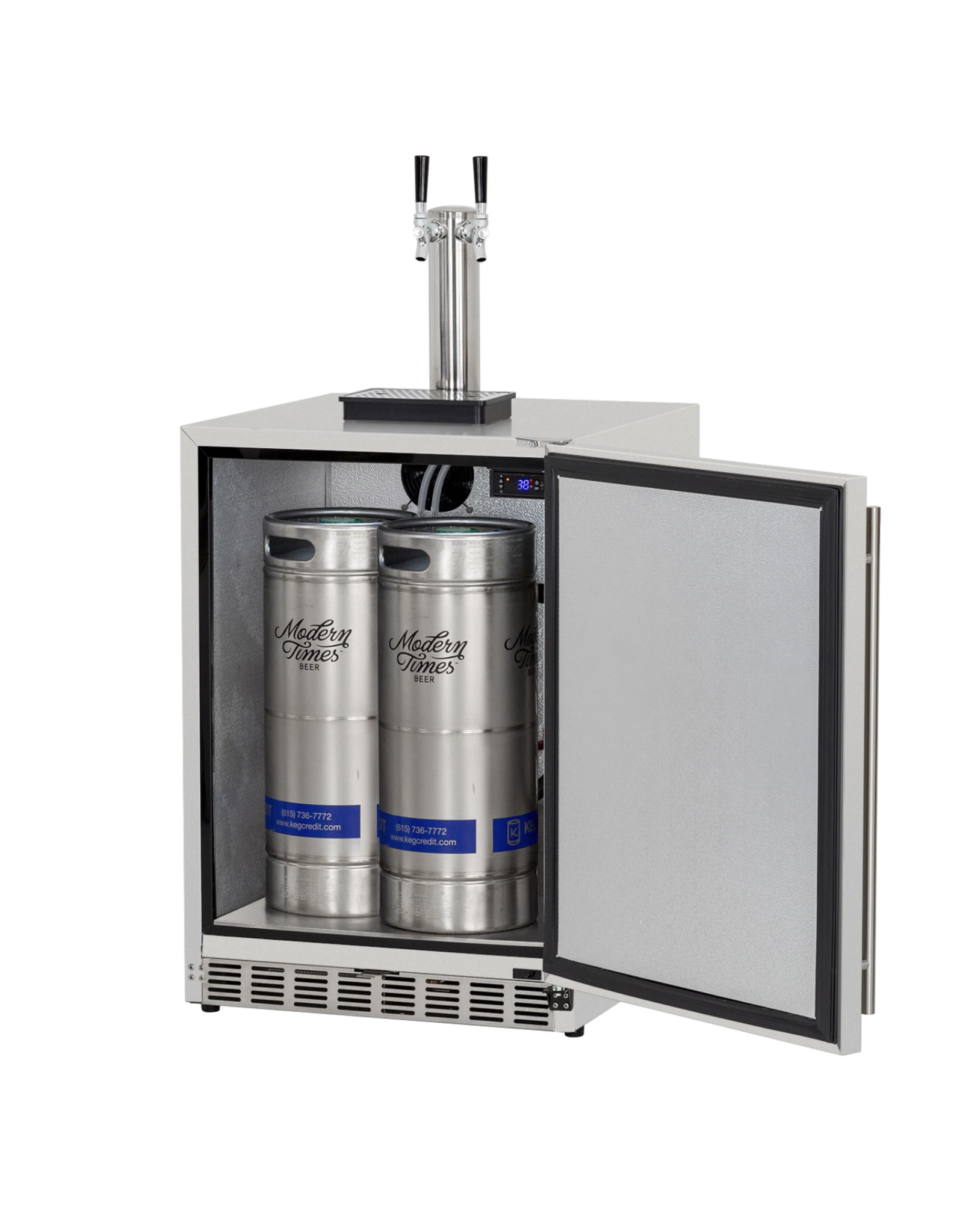 Renaissance Cooking Systems Renaissance Cooking Systems The Double Tap Outdoor Kegerator - REFR6