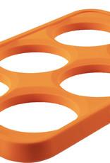Blackstone Blackstone Orange Silicone 6 Section Egg Ring Tray - 5242