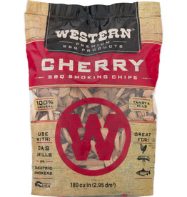 Western Premium BBQ Products Western Premium BBQ Products Cherry BBQ Smoking Chips, 180 Cu in