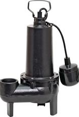 Superior Pump 1/2 HP Submersible Cast Iron Sewage Pump