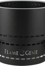"Flame Genie Flame Genie Inferno 16"" Wood Pellet Fire Pit Black FG-16"