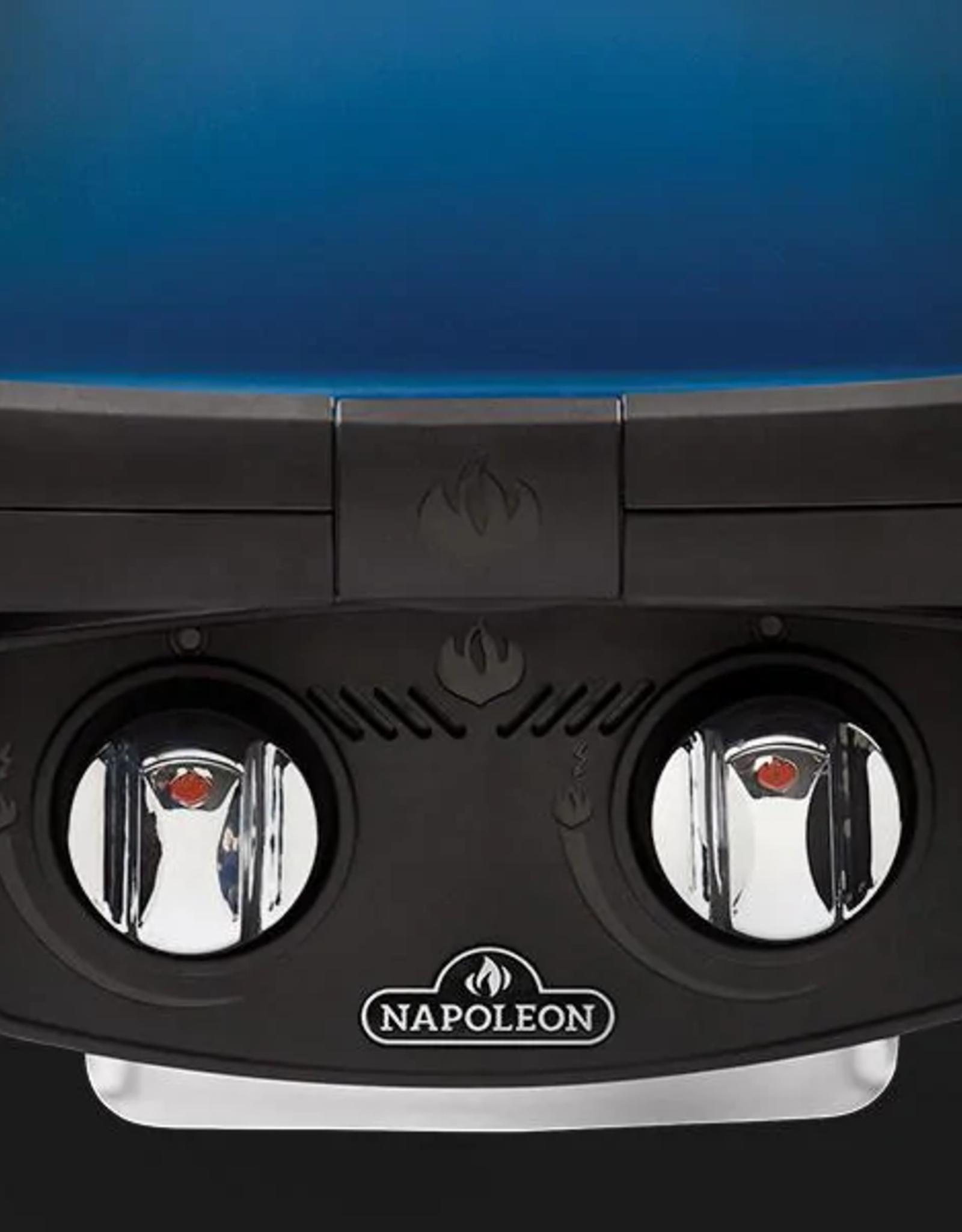 Napoleon Napoleon TravelQ 285 Portable Propane Gas Grill - Blue - TQ285-BL-1