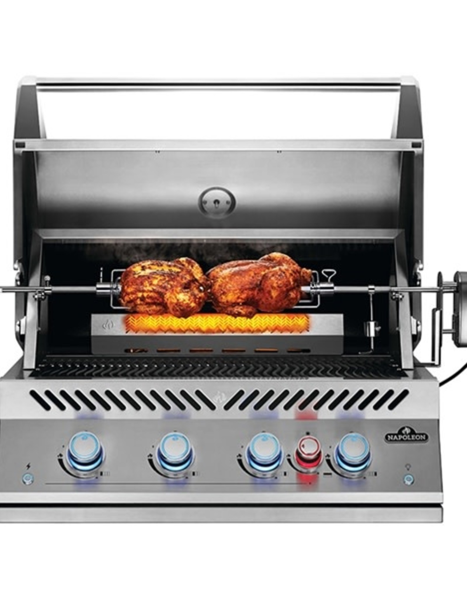 """Napoleon Napoleon Built-In 700 Series 32"""" Propane Gas Grill with Infrared Rear Burner - BIG32RBPSS"""