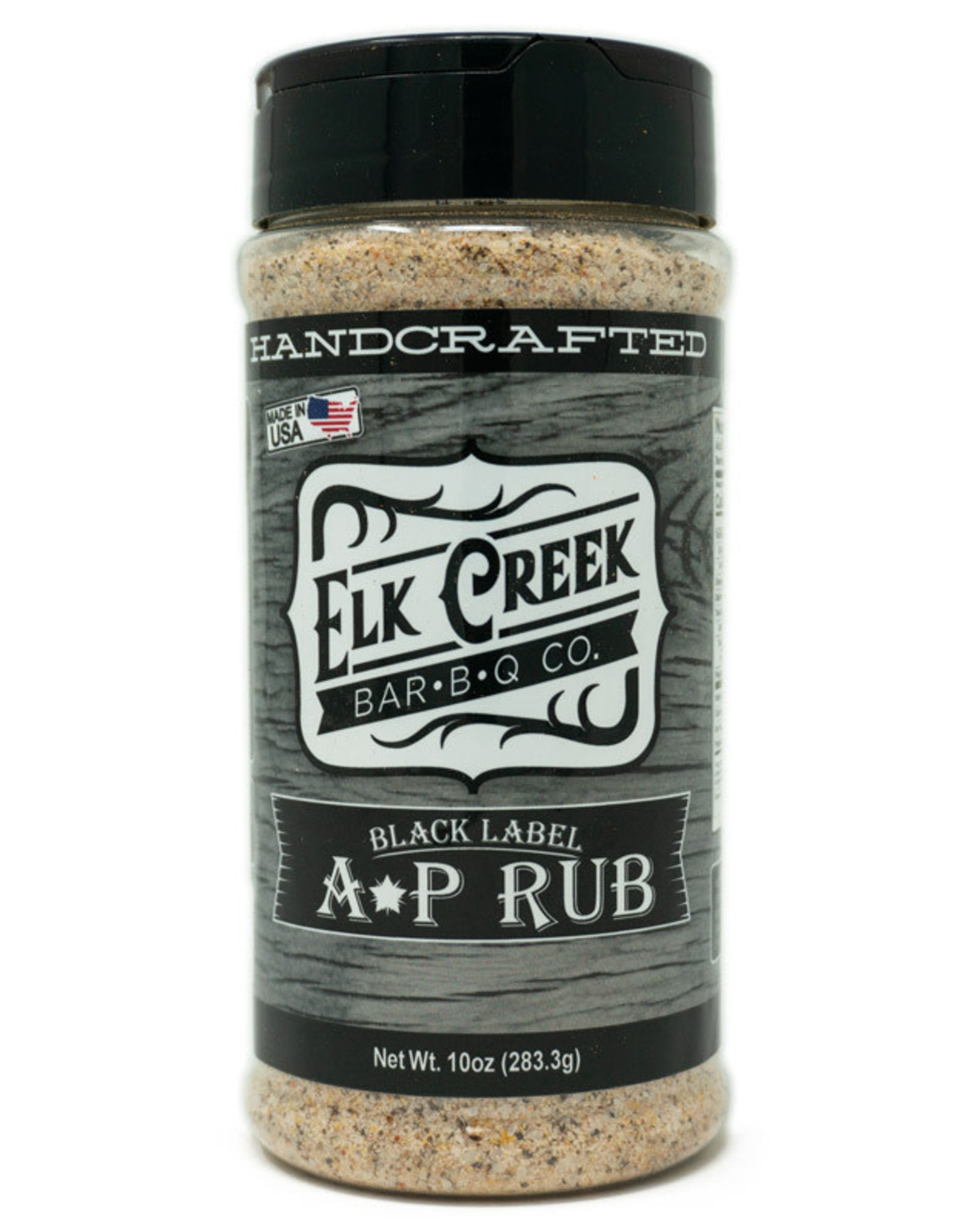 Elk Creek BBQ Elk Creek BBQ -  Black Label AP Rub 10 oz.