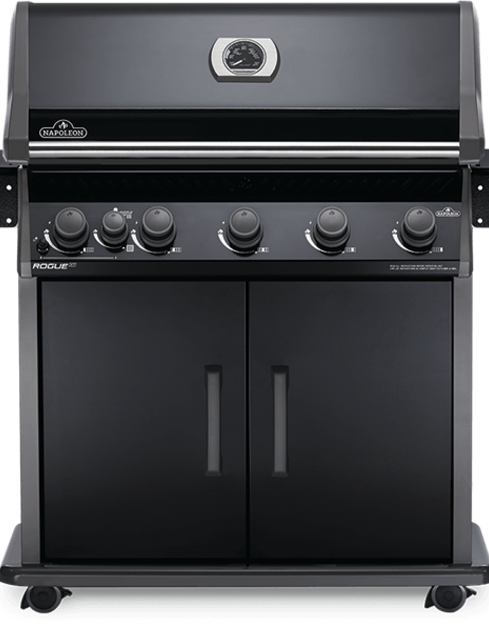 Napoleon Napoleon Rogue® XT 625 SIB Natural Gas Grill with Infrared Side Burner - RXT625SIBNK-1