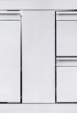 "Napoleon Napoleon 42"" x 16"" Single Door & Double Drawer Combo - BI-4216-1D2DR"