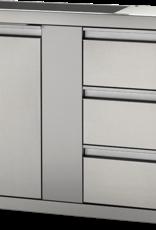 "Napoleon Napoleon 42"" x 24"" Large Single Door & Triple Drawer - BI-4224-1D3DR"