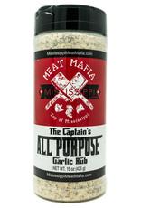 Mississippi Meat Mafia Mississippi Meat Mafia - The Captain's All-Purpose Garlic Rub (15 oz.)