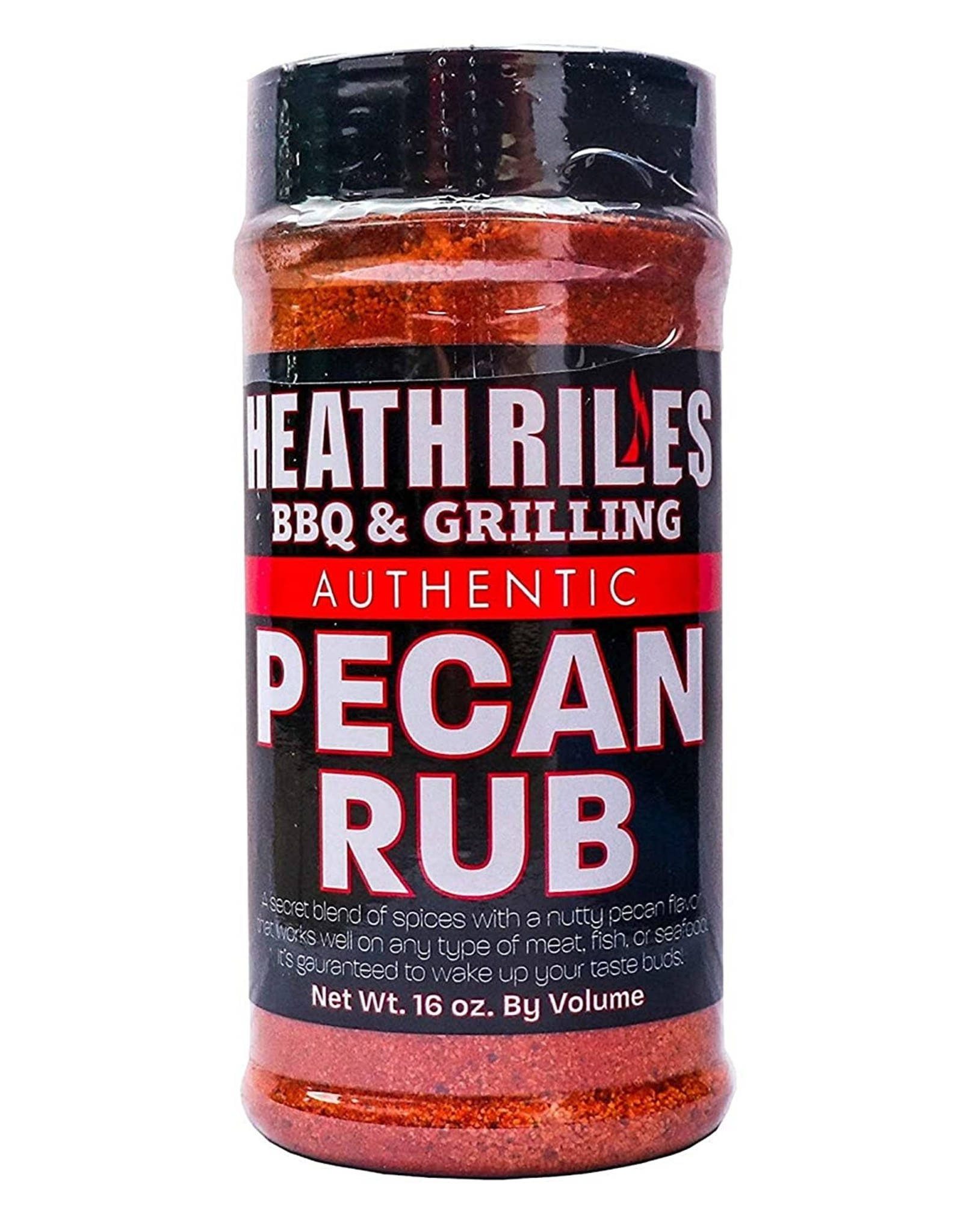Heath Riles BBQ Heath Riles BBQ - Pecan Rub Shaker, 16 oz.