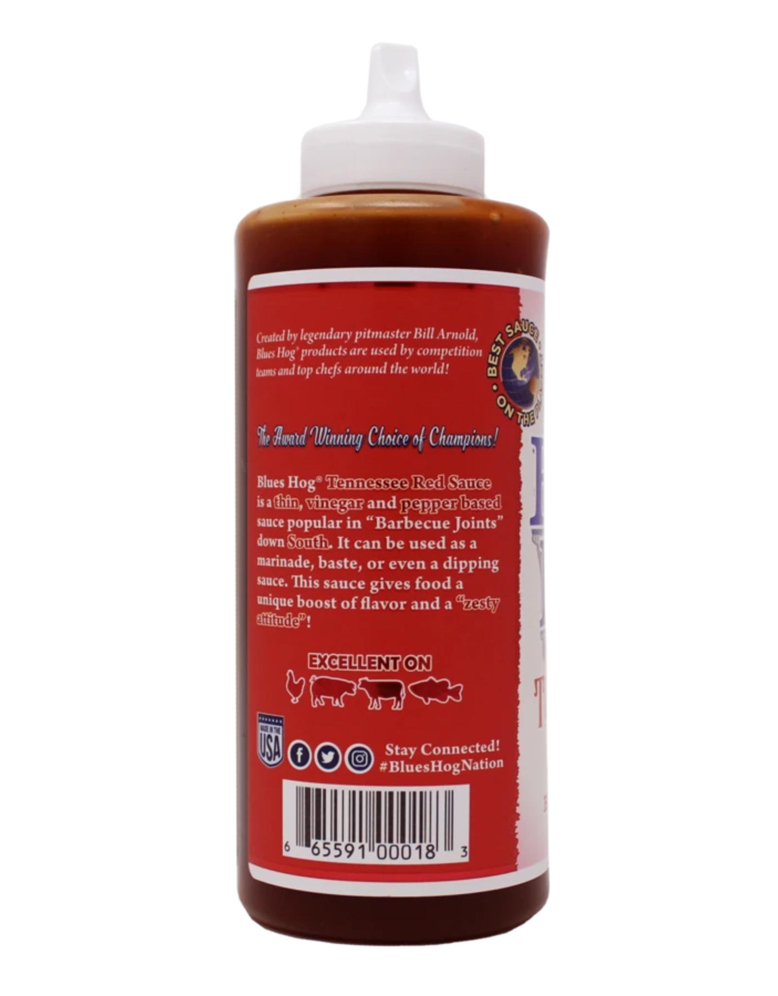 Blues Hog Blues Hog Tennessee Red BBQ Sauce Squeeze Bottle 23 oz.