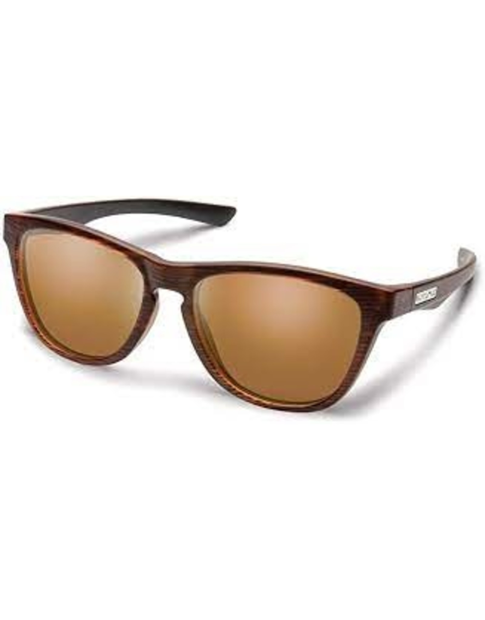 Suncloud SUNGLASSES SUNCLOUD TOPSAIL BURNISHED BROWN POLARIZED BROWN