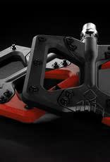 Squidworx pedals  black/red