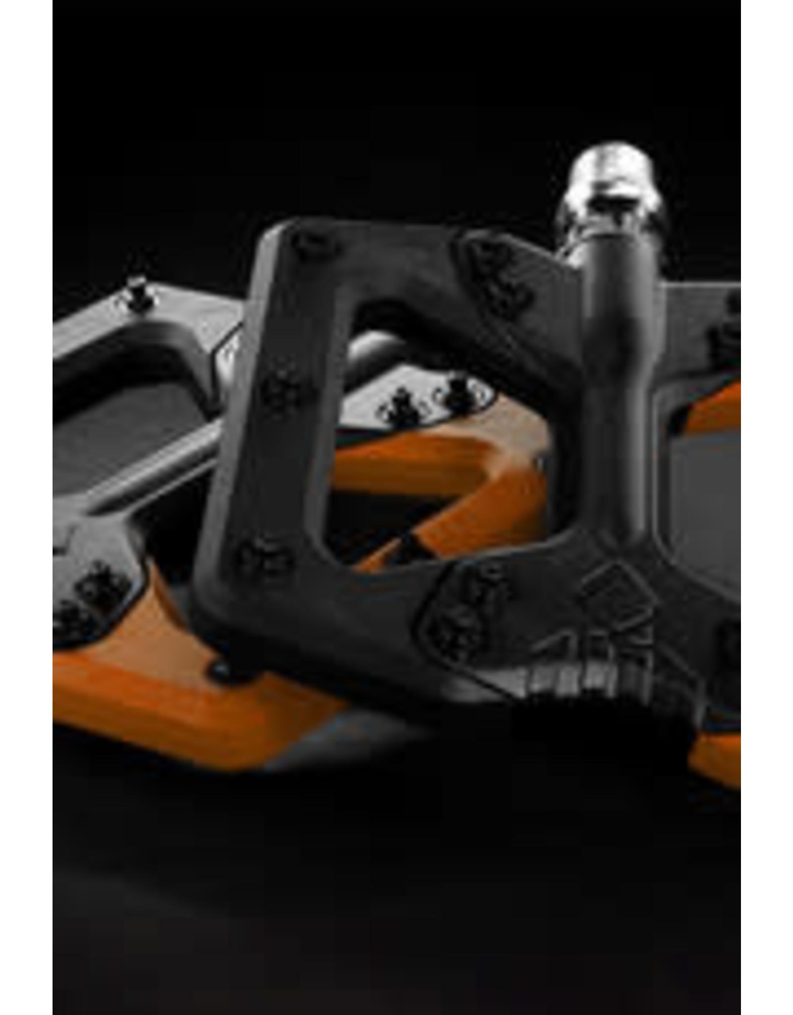 Squidworx pedals  black/orange