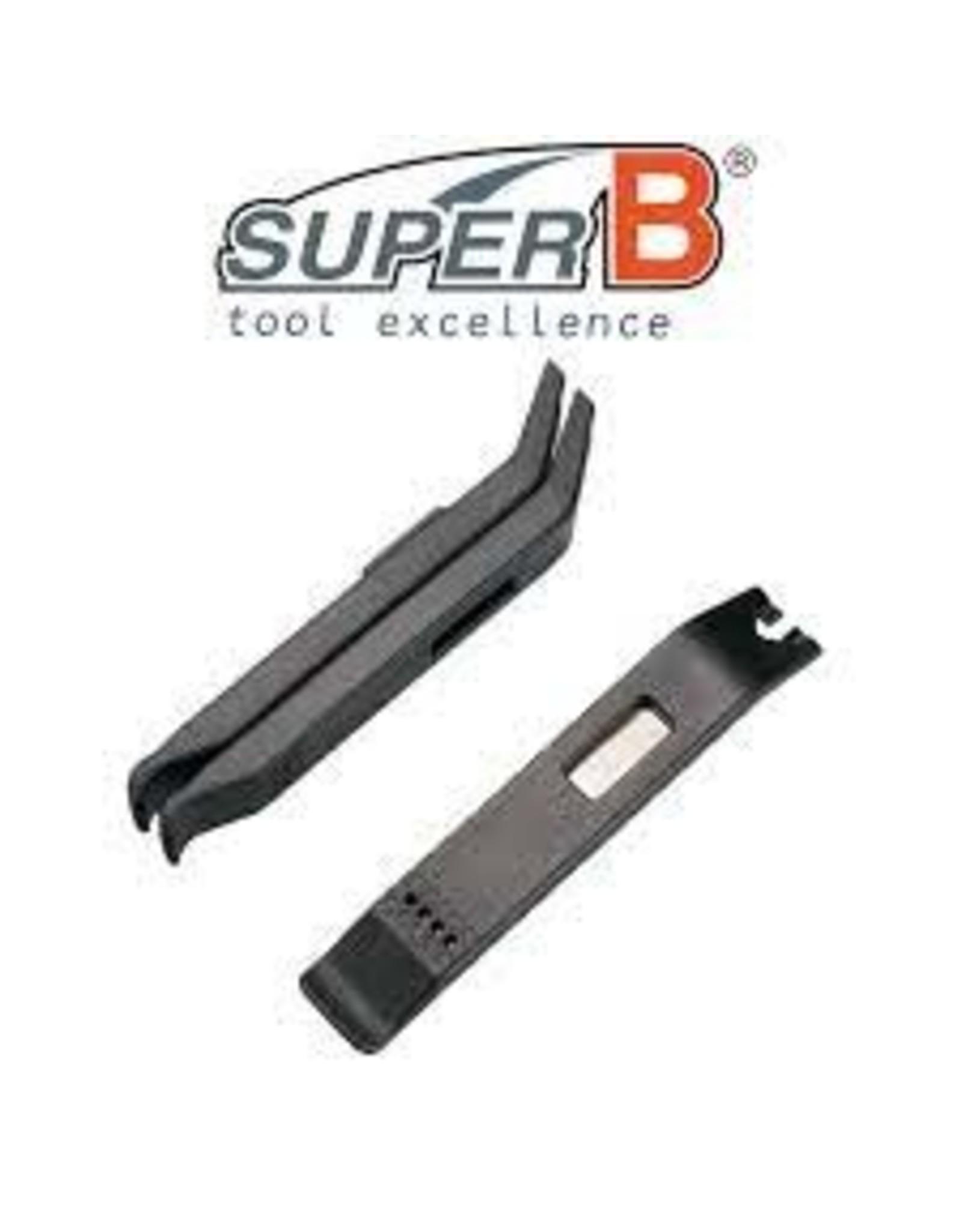 SUPER B TOOLS SB STEEL CORE TIRE LEVRER 3PC