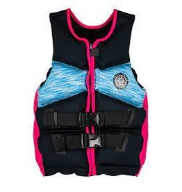 Radar LIFE JACKET RADAR TRA Girl's - CGA Life Vest - Vibrant Mesh / Pink / Black - Teen (75-125lbs)