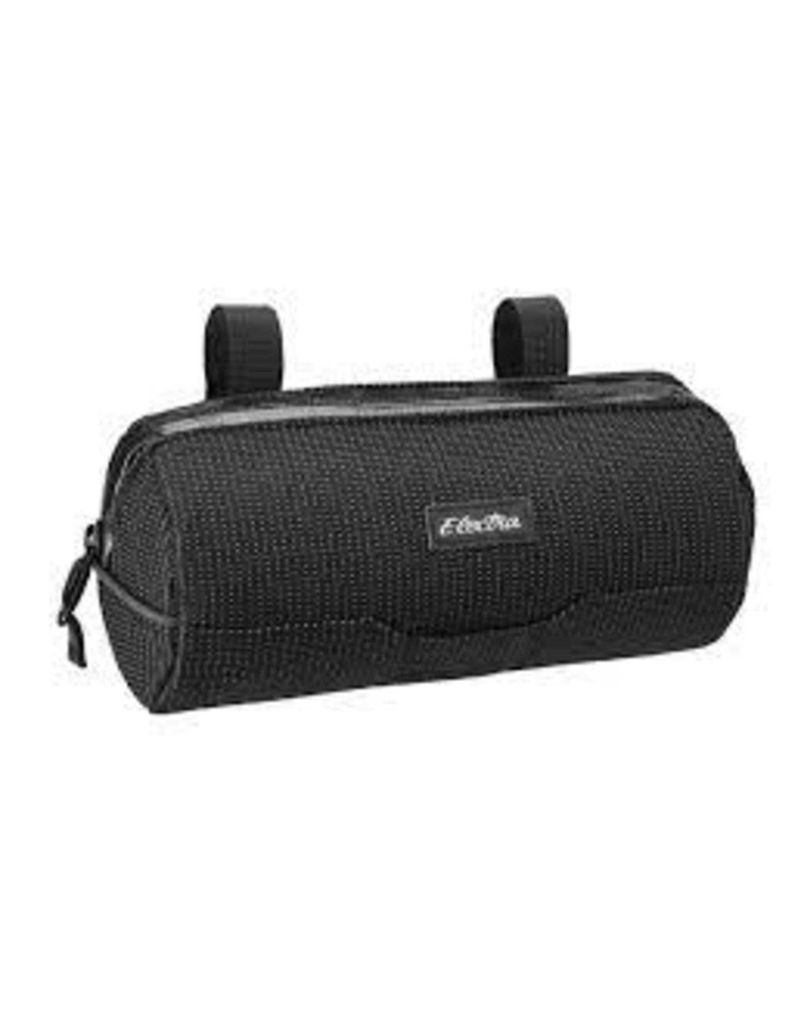 Electra Bag Electra Cylinder Handlebar Bag Reflective Charcoal