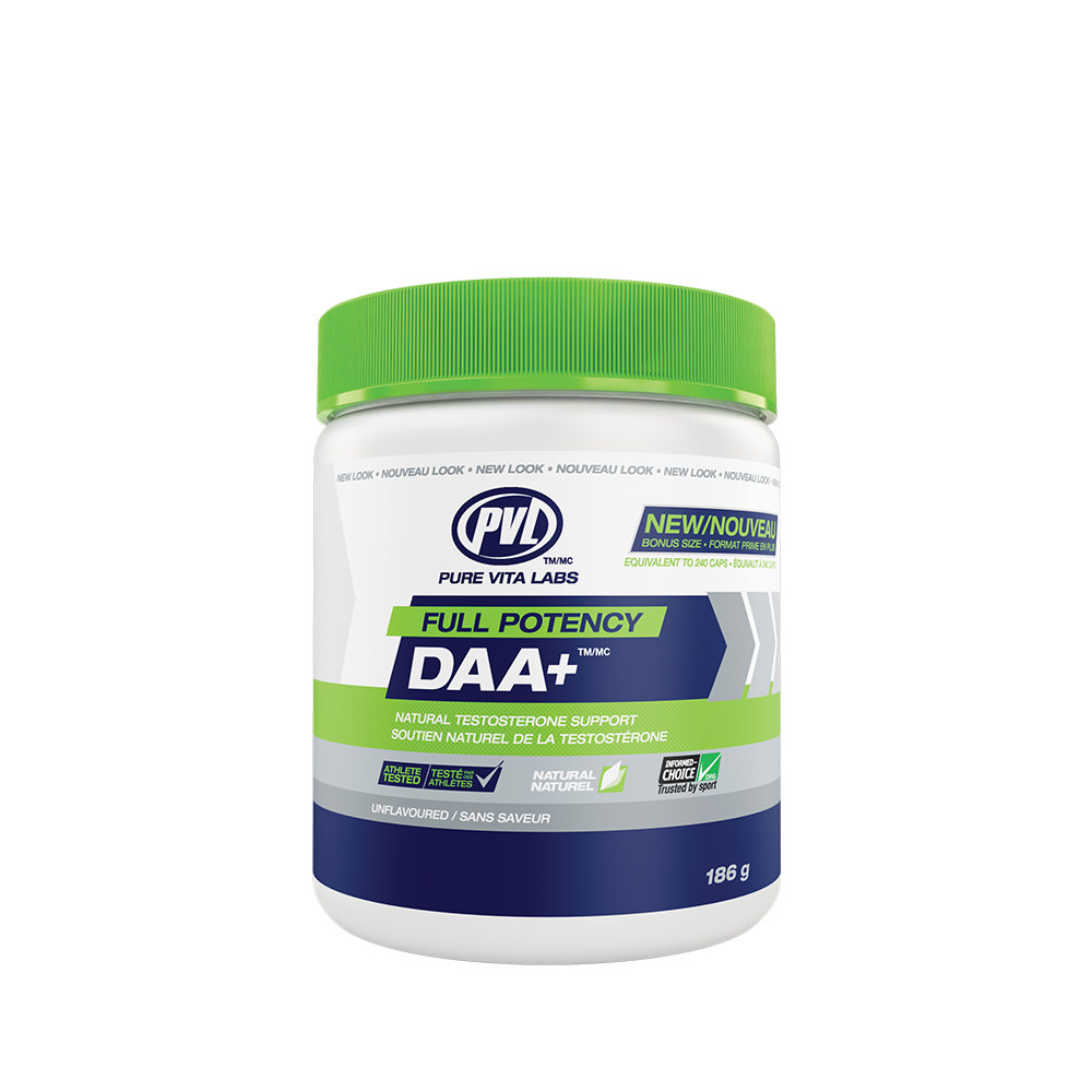 PVL PVL - Full Potency Daa+  - Unflavoured  - 186 g