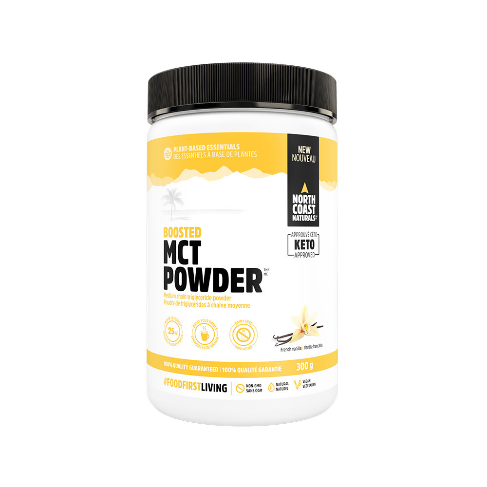 North Coast Naturals NCN - MCT Powder - French Vanilla - 300g