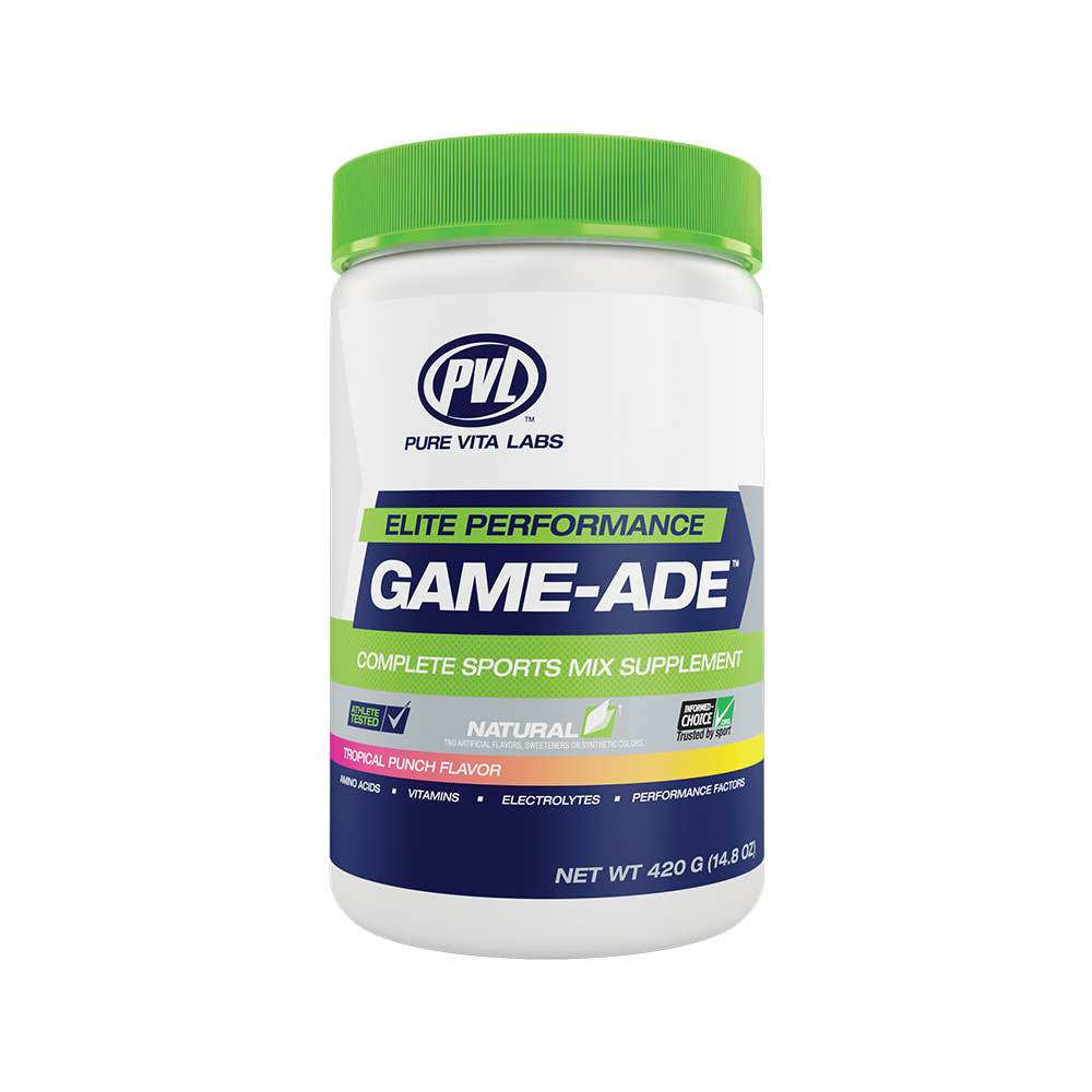 PVL PVL - Game-Ade - Tropical Punch - 420g