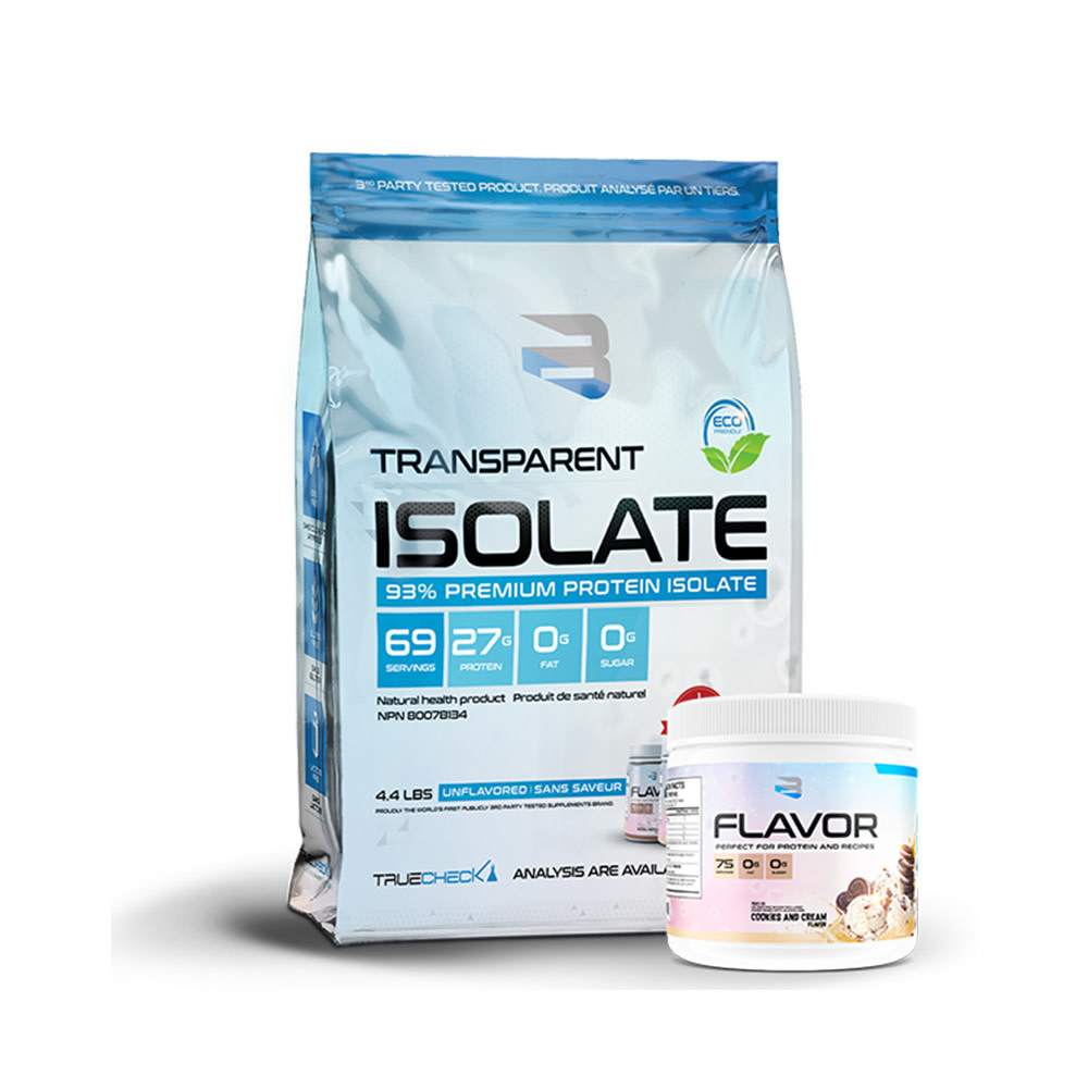Believe Believe - Transparent  Isolate - 4.4 lbs