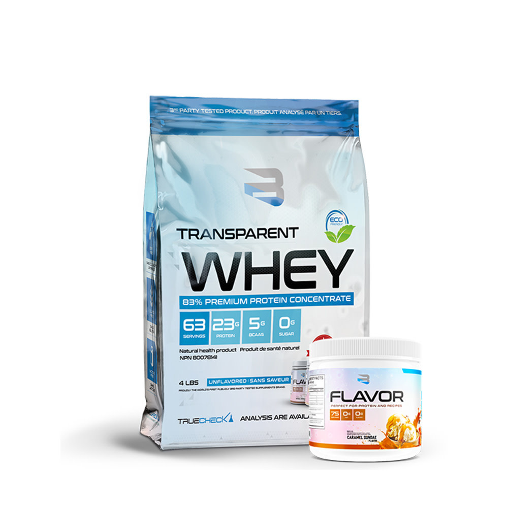 Believe Believe - Transparent Whey - unflavored - 4 lbs