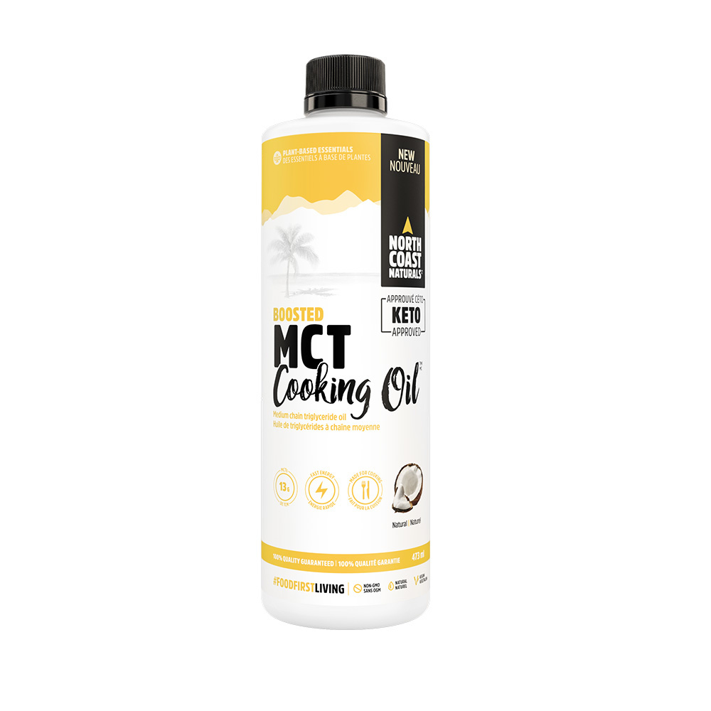North Coast Naturals NCN - MCT cooking oil - Natural - 473ml