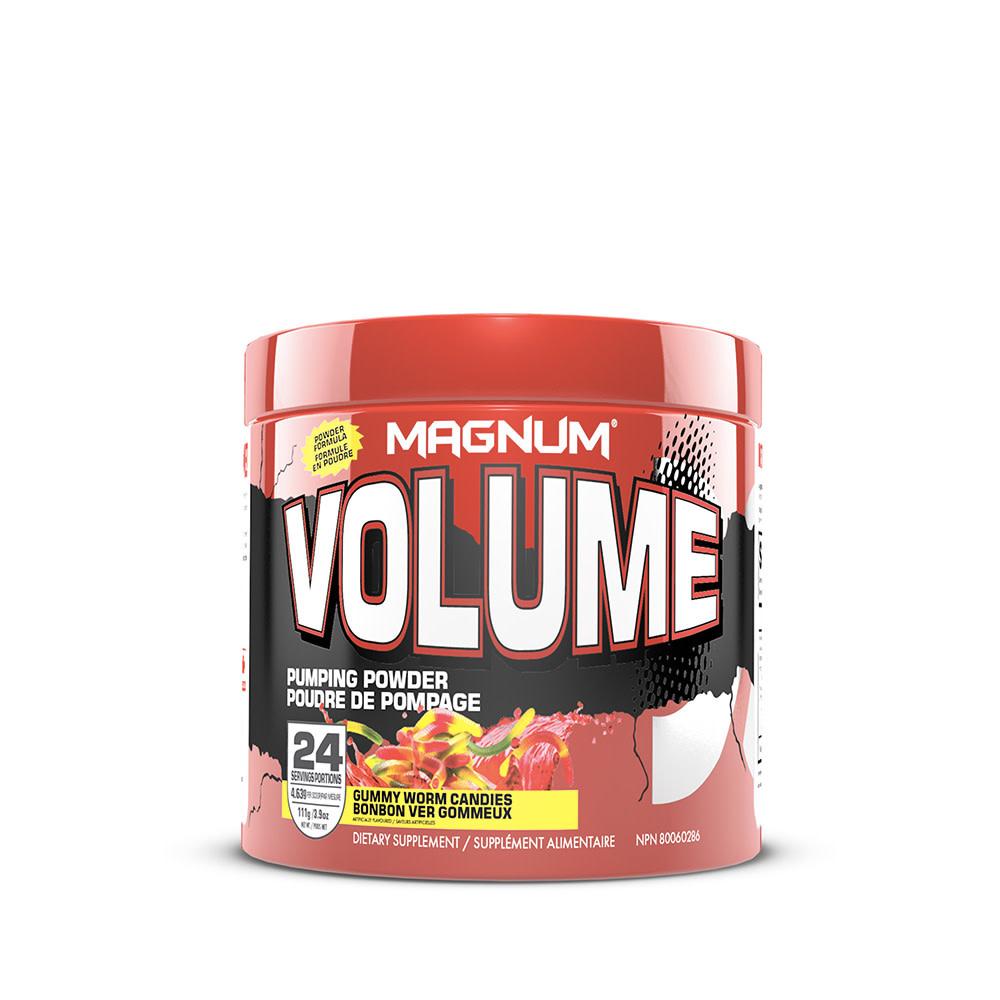 Magnum Magnum - Volume - Gummy Worm Candies - 24 Serv.