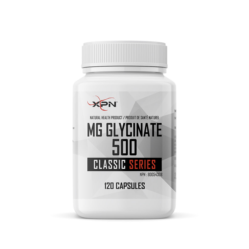 XPN XPN - Magnesium Glycinate 500 - 120 Caps