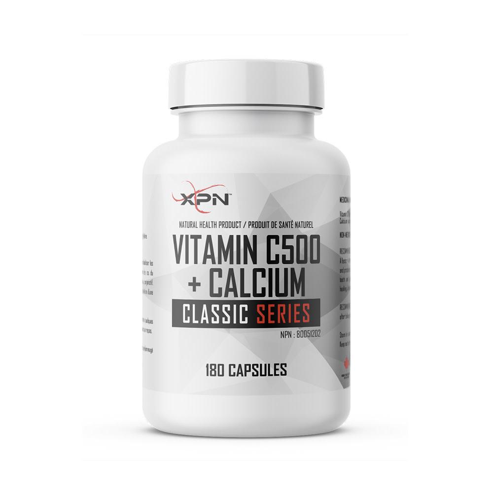 XPN XPN - Vitamin C 500 + Calcium - 180 Caps