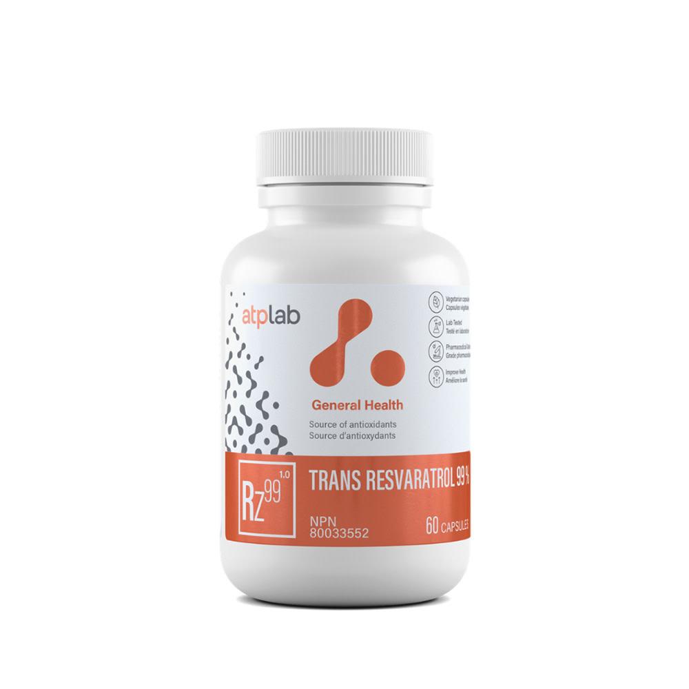 ATP Labs ATP - Trans Reveratrol 99% - 60 Caps
