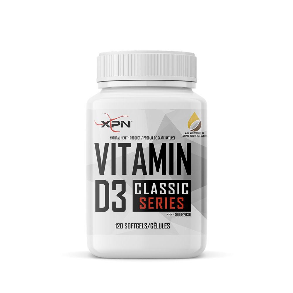 XPN XPN - Vitamin D3 - 120 Gels