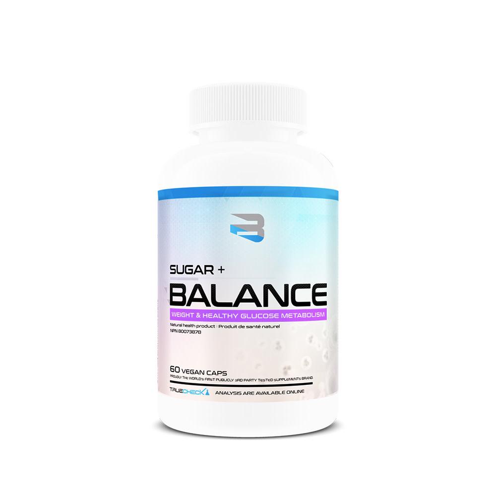 Believe Believe - Sugar + Balance - 60 Caps