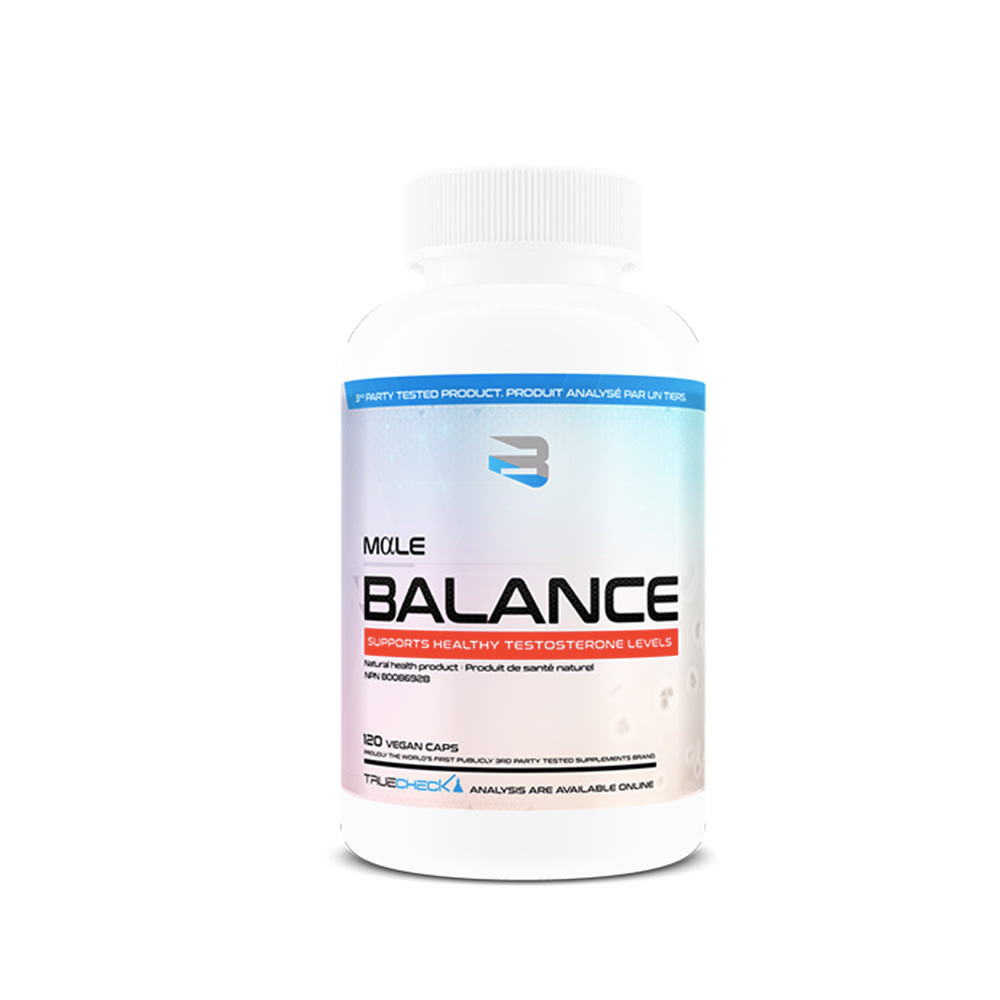 Believe Believe - Male balance - 120 vegan caps