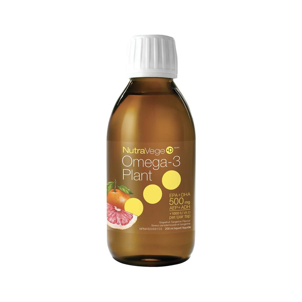 Ascenta Nature's way - Nutra Vege +D -  Grapefruit Tangerine  - 200ml