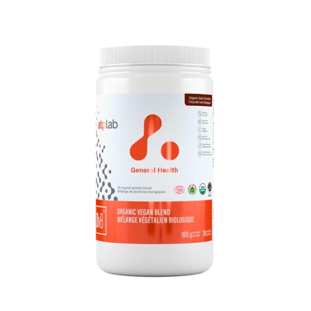 ATP Labs ATP - Mélange Végétalien Biologique - 900g Chocolat