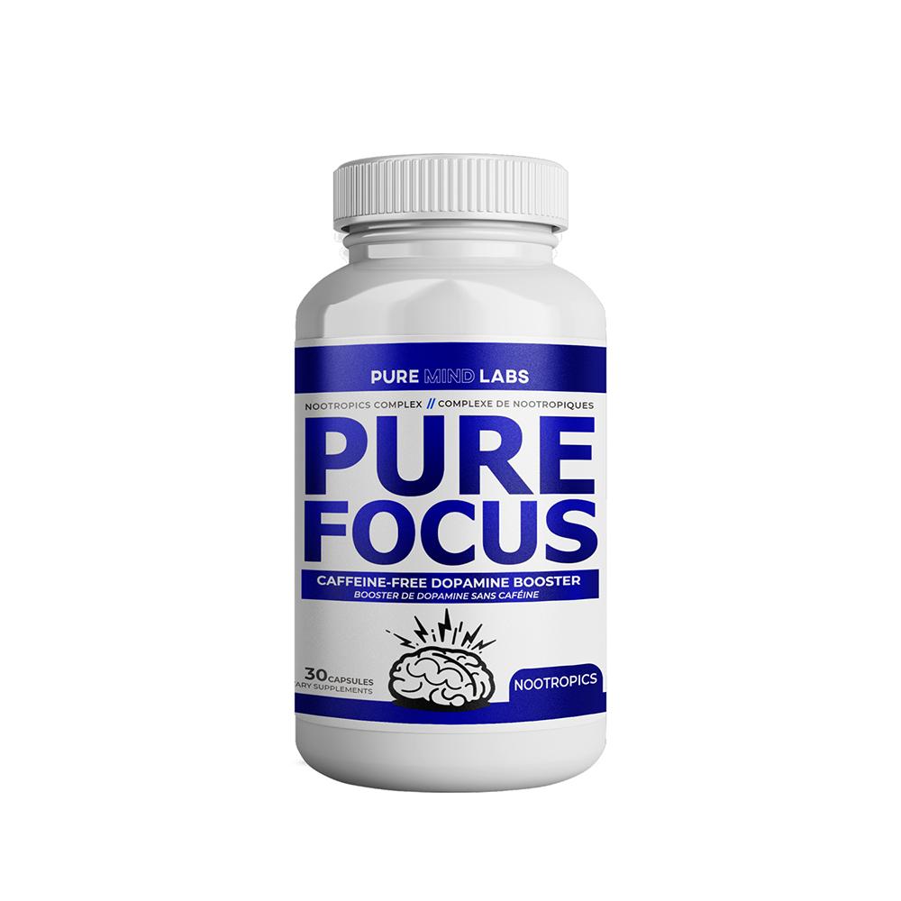 Pure Mind Pure Mind - Pure Focus - 30 Capsules