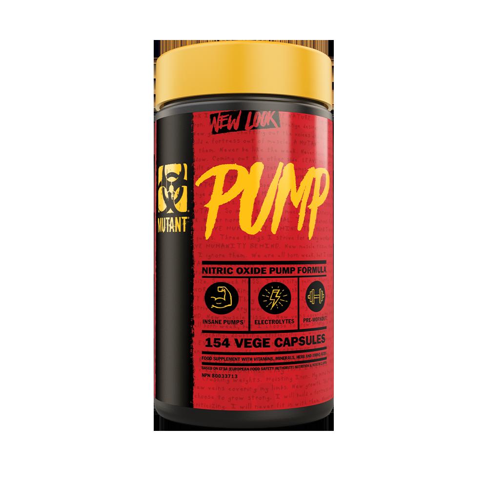 Mutant Mutant - Pump - 154 Capsules