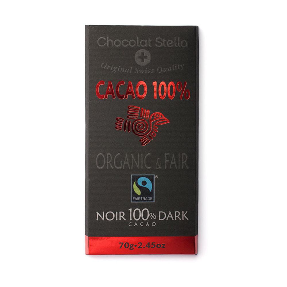 Stella Stella - Bio Chocolat 100% Noir 100g