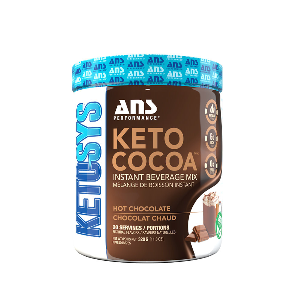 ANS Performance ANS - Keto Cocoa - Instant Beverage Mix - Chocolat Chaud