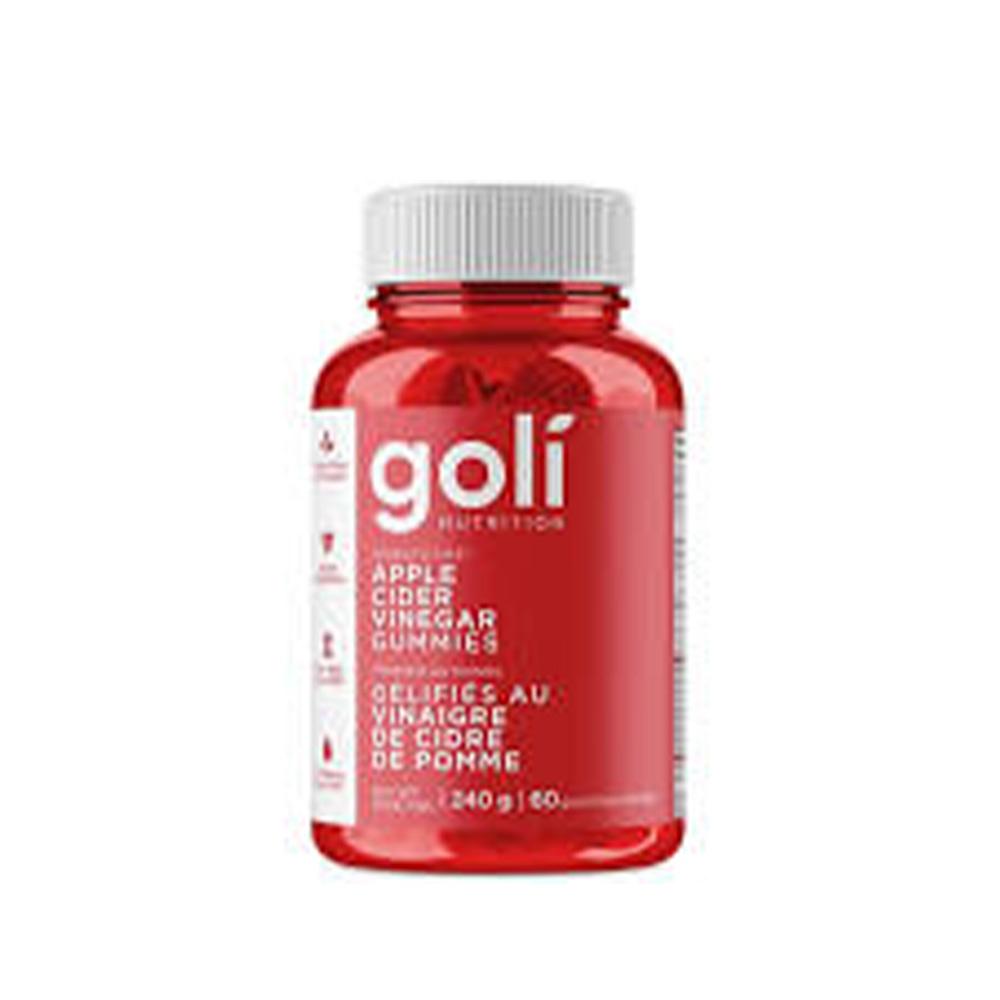 Goli Nutrition - Apple Cider Vinegar Gummies - 240G