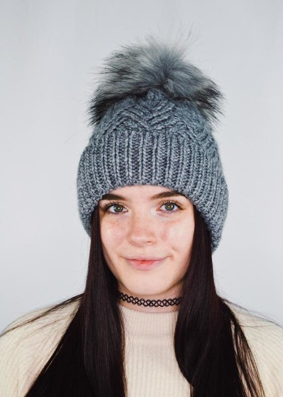 Free People Pinnacle Pom Beanie