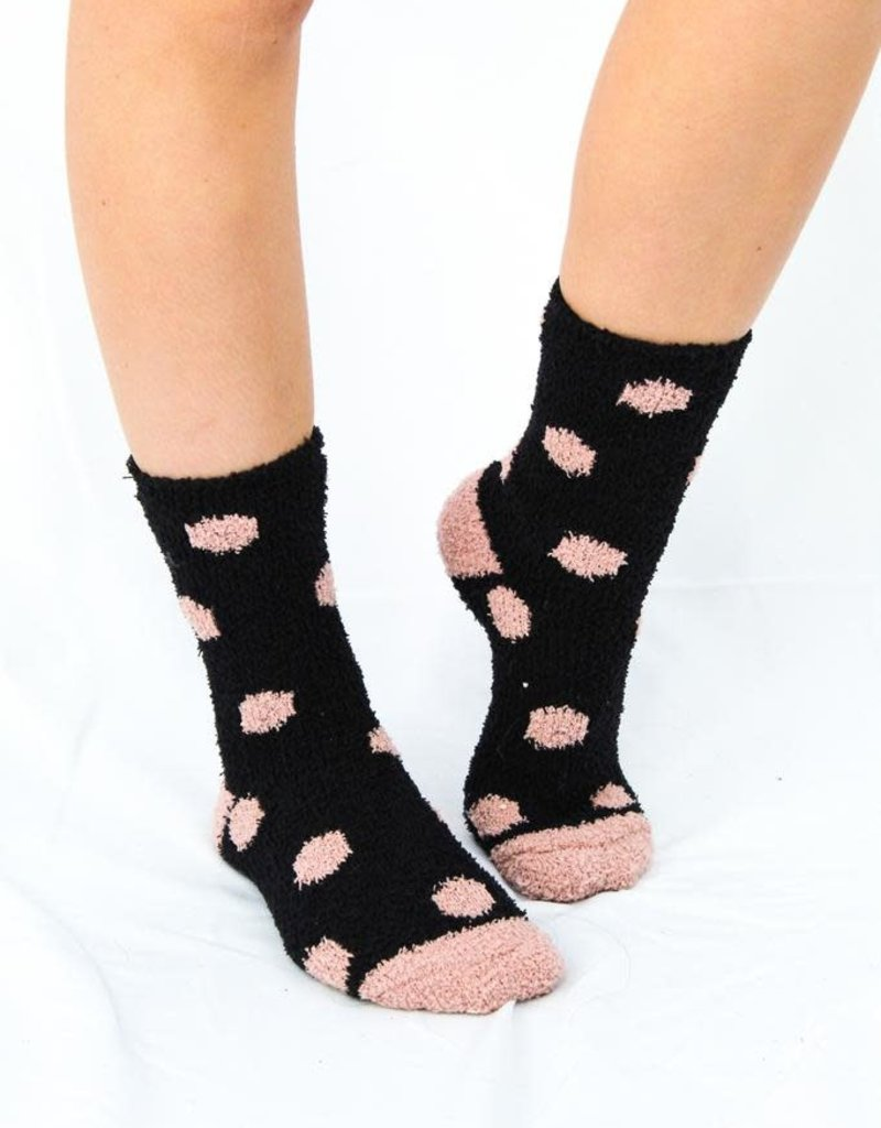 Z Supply Dot Plush Socks