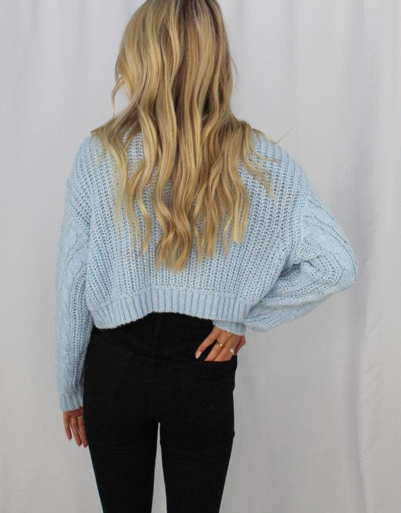 Cotton Candy Speed Dial Sweater