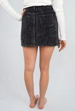 She + Sky It's a Vibe Cord Mini Skirt