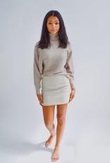 She + Sky Leather Lovin Skirt