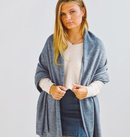 Look by M Nothin Better Pure Cashmere Travel Wrap Scarf