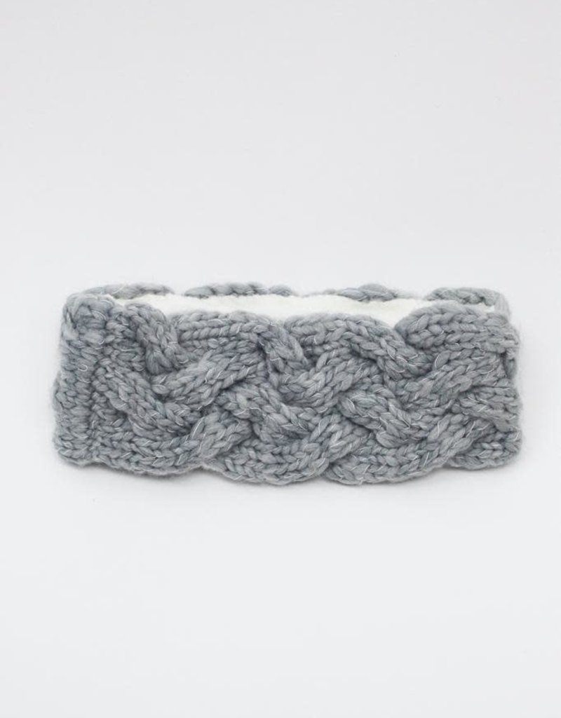 Look by M Ear Snuggle Cable Mango Yarn Headband