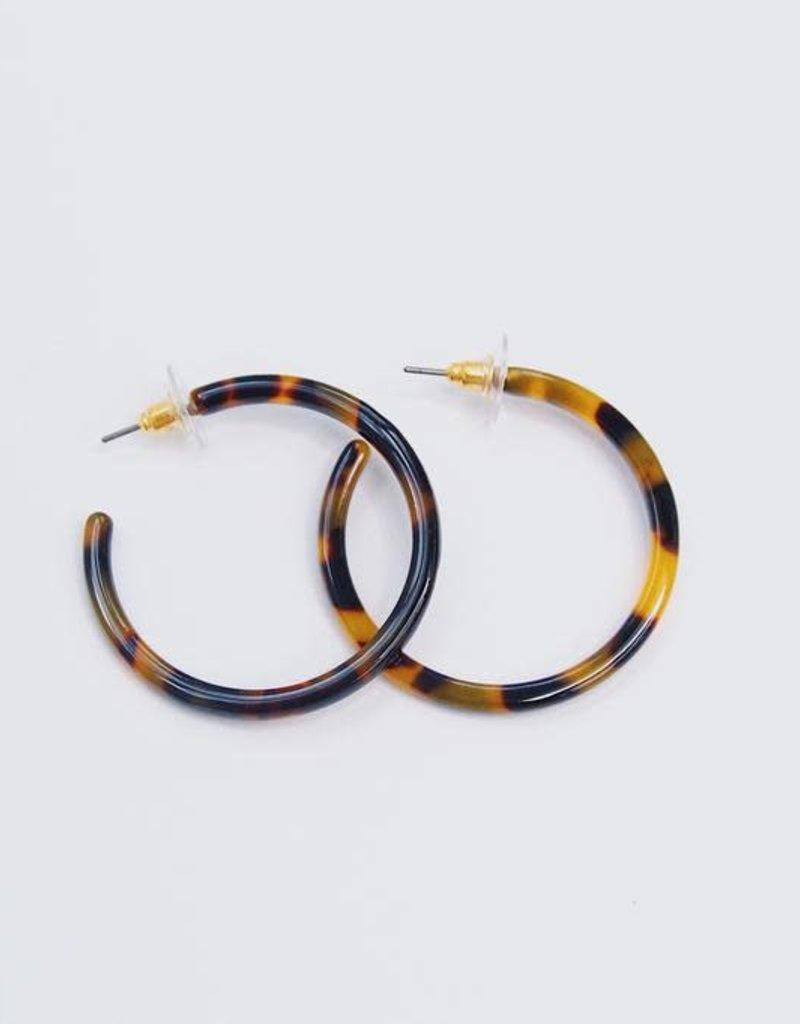 U.S. Jewelry House (New York Style) Mod Lady Earrings