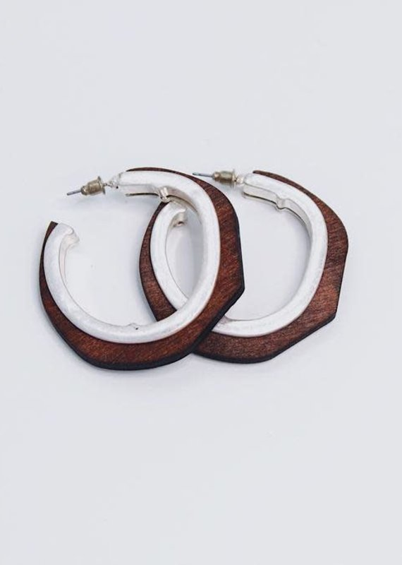 U.S. Jewelry House (New York Style) Rio Grande Hoops